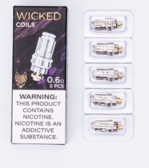 Wicked 0,6 Ω Coils by SNOWWOLF